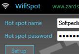 برنامج  WifiSpot   لتحويل الجهاز نقطة لا سلكي للاستقبال